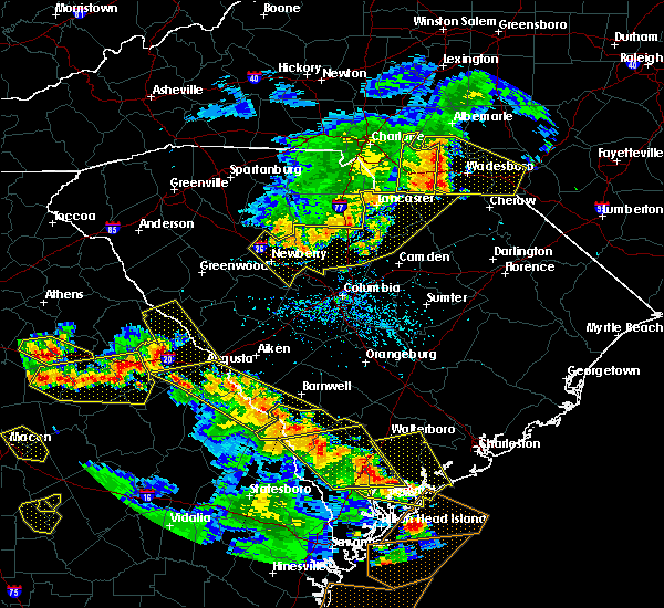 Radar Image for Severe Thunderstorms near Norwood, NC at 6/22/2019 5:03 PM EDT