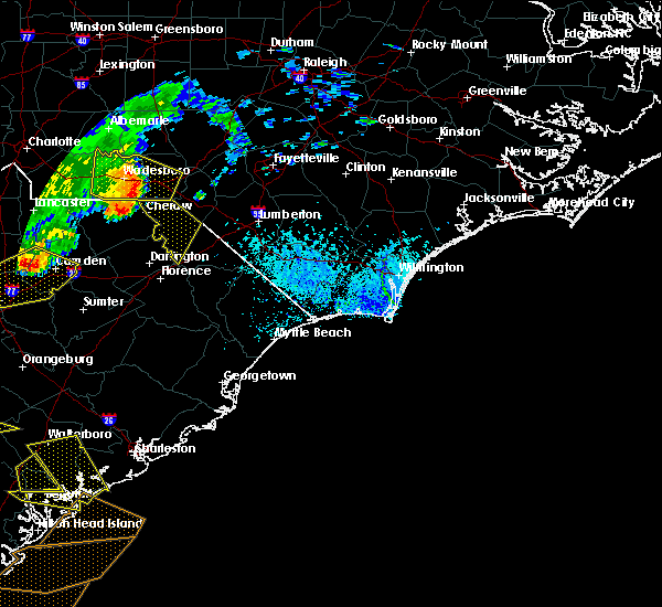 Radar Image for Severe Thunderstorms near McColl, SC at 6/22/2019 5:26 PM EDT