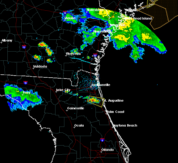 Radar Image for Severe Thunderstorms near World Golf Village, FL at 6/22/2019 7:04 PM EDT