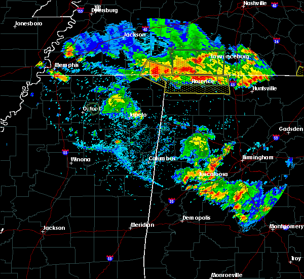 Radar Image for Severe Thunderstorms near Savannah, TN at 6/22/2019 6:33 PM CDT