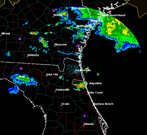 Radar Image for Severe Thunderstorms near World Golf Village, FL at 6/22/2019 7:40 PM EDT