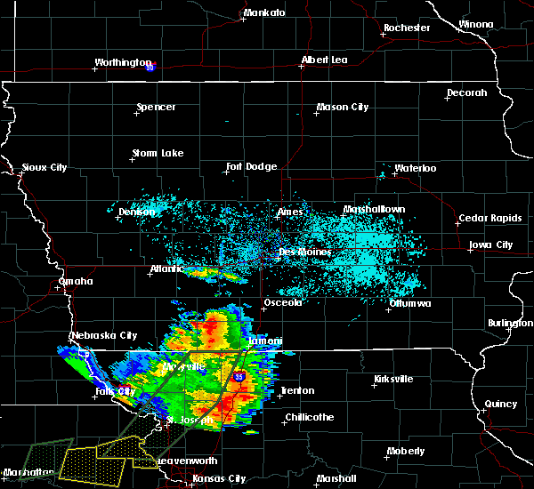 Radar Image for Severe Thunderstorms near Cromwell, IA at 6/22/2019 6:53 PM CDT
