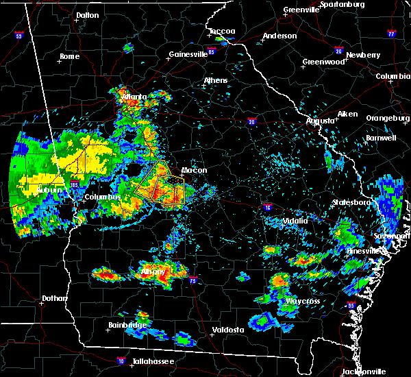 Radar Image for Severe Thunderstorms near Roberta, GA at 6/22/2019 8:20 PM EDT