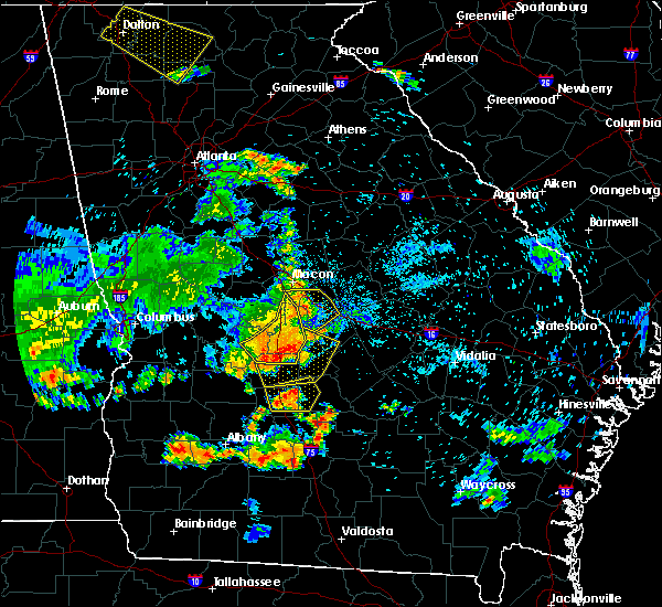 Radar Image for Severe Thunderstorms near Centerville, GA at 6/22/2019 8:55 PM EDT