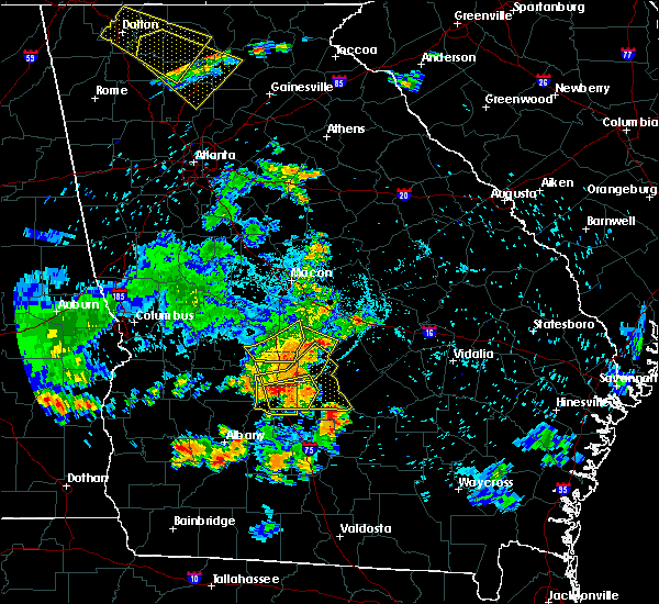 Radar Image for Severe Thunderstorms near Pitts, GA at 6/22/2019 9:14 PM EDT