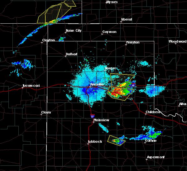 Radar Image for Severe Thunderstorms near Howardwick, TX at 6/22/2019 10:29 PM CDT