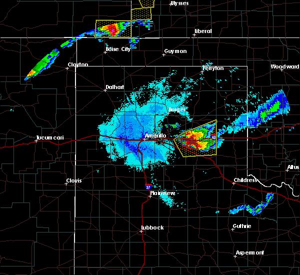 Radar Image for Severe Thunderstorms near Howardwick, TX at 6/22/2019 11:23 PM CDT