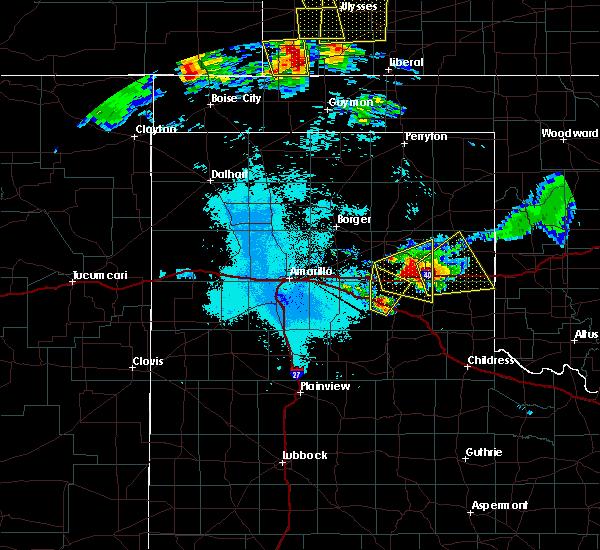 Radar Image for Severe Thunderstorms near Howardwick, TX at 6/23/2019 12:08 AM CDT
