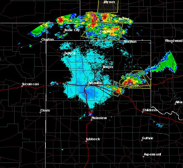 Radar Image for Severe Thunderstorms near Howardwick, TX at 6/23/2019 12:20 AM CDT