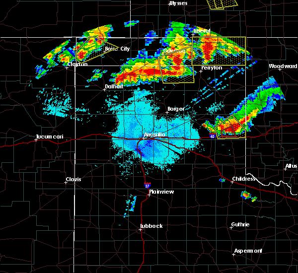 Radar Image for Severe Thunderstorms near Boise City, OK at 6/23/2019 1:15 AM CDT
