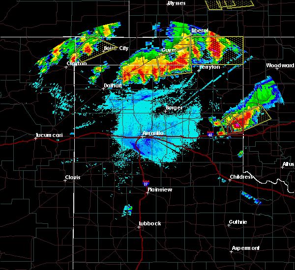 Radar Image for Severe Thunderstorms near Hardesty, OK at 6/23/2019 1:31 AM CDT