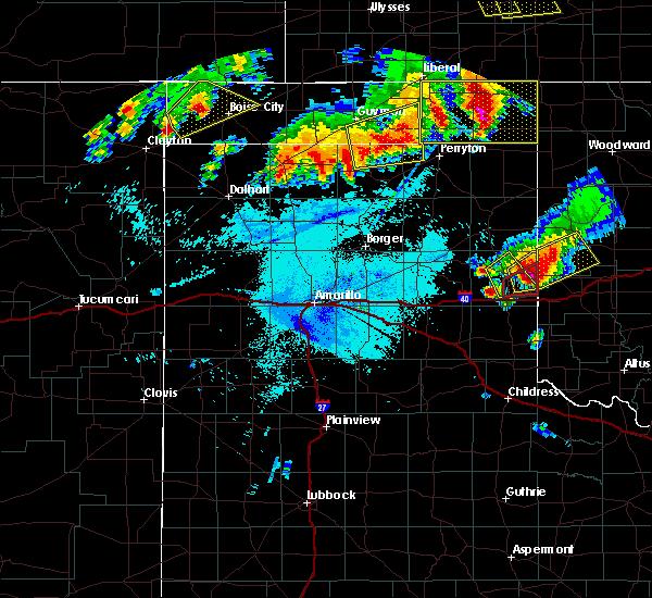 Radar Image for Severe Thunderstorms near Hardesty, OK at 6/23/2019 1:39 AM CDT