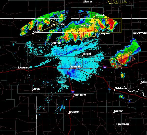 Radar Image for Severe Thunderstorms near Boise City, OK at 6/23/2019 1:47 AM CDT