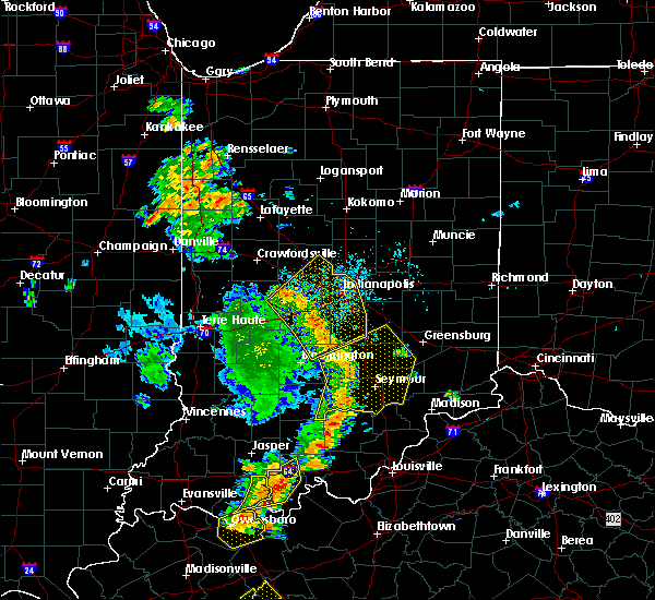 Radar Image for Severe Thunderstorms near Greenfield, IN at 6/23/2019 3:29 PM EDT