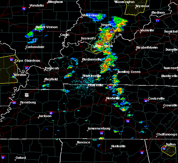 Radar Image for Severe Thunderstorms near Rochester, KY at 6/23/2019 2:32 PM CDT