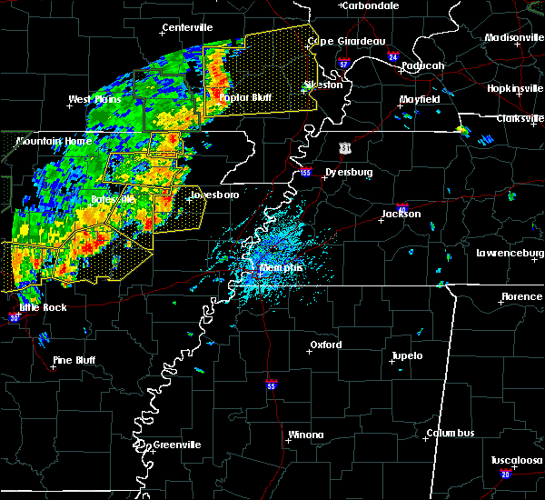 Radar Image for Severe Thunderstorms near Delaplaine, AR at 6/23/2019 2:34 PM CDT