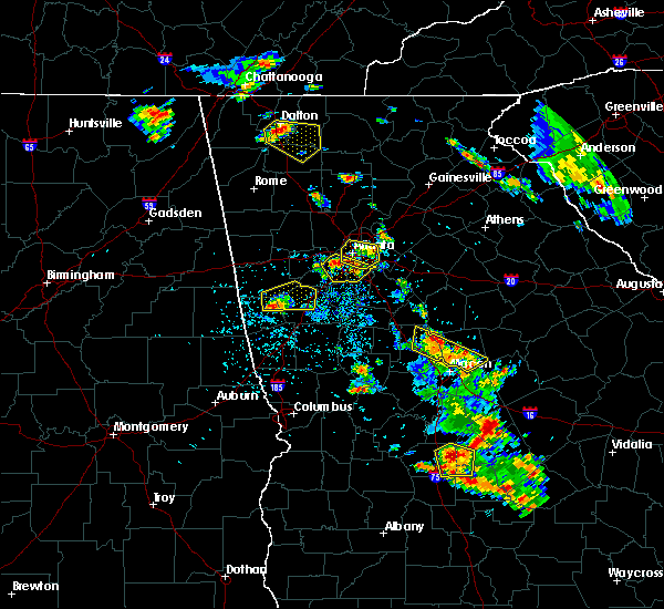 Radar Image for Severe Thunderstorms near Candler-McAfee, GA at 6/23/2019 3:37 PM EDT