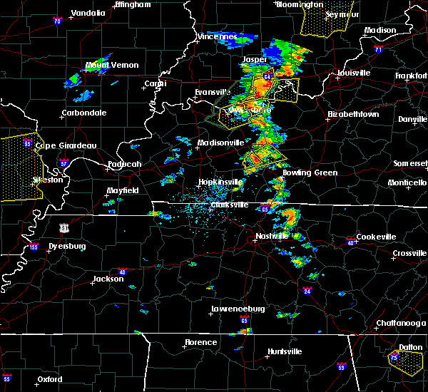 Radar Image for Severe Thunderstorms near Morgantown, KY at 6/23/2019 2:39 PM CDT