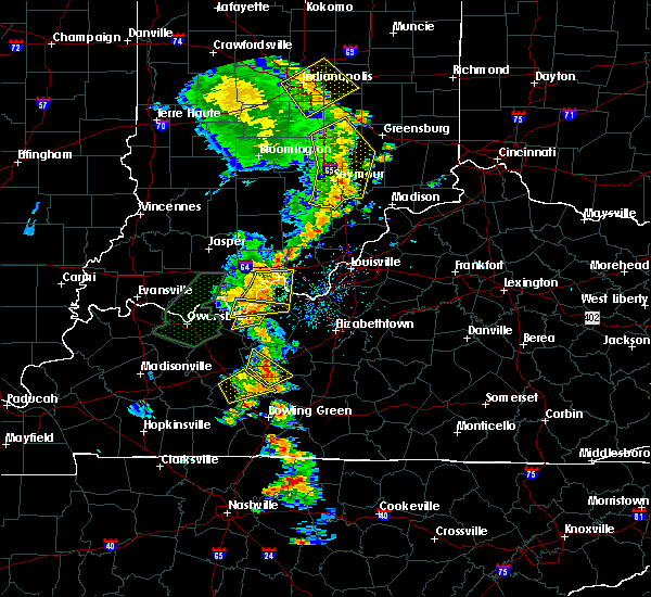Radar Image for Severe Thunderstorms near Irvington, KY at 6/23/2019 3:59 PM EDT