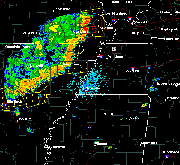 Radar Image for Severe Thunderstorms near Rector, AR at 6/23/2019 3:06 PM CDT