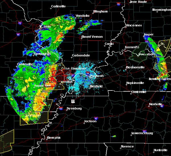 Radar Image for Severe Thunderstorms near Columbus, KY at 6/23/2019 3:34 PM CDT