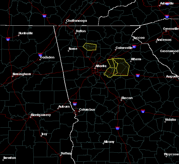 Radar Image for Severe Thunderstorms near Russell, GA at 6/23/2019 4:55 PM EDT