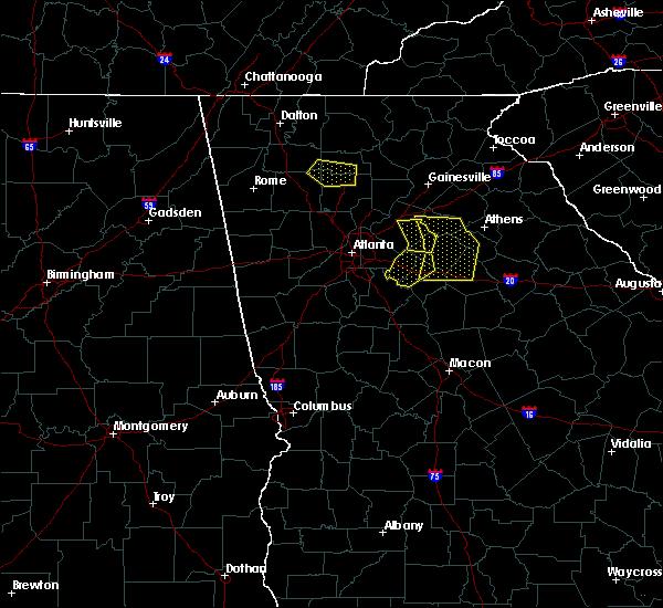 Radar Image for Severe Thunderstorms near Rutledge, GA at 6/23/2019 4:55 PM EDT