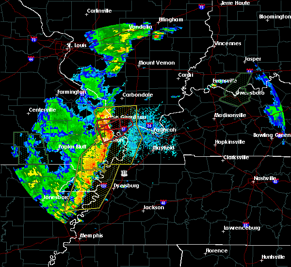 Radar Image for Severe Thunderstorms near Columbus, KY at 6/23/2019 3:55 PM CDT