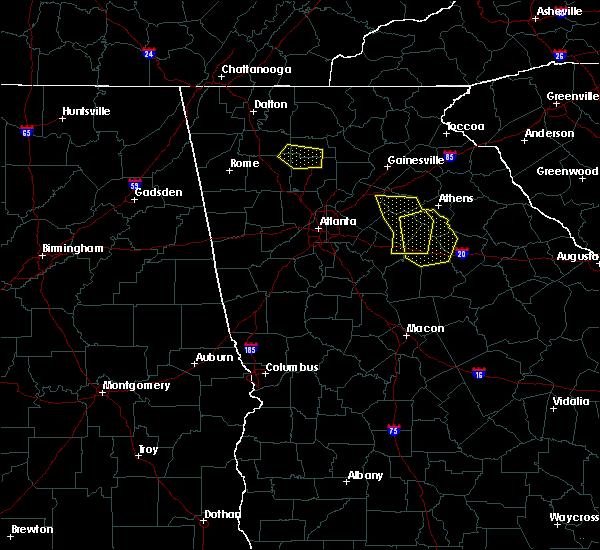 Radar Image for Severe Thunderstorms near Rutledge, GA at 6/23/2019 5:00 PM EDT