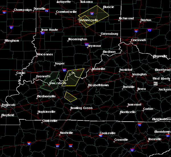 Radar Image for Severe Thunderstorms near Utica, KY at 6/23/2019 5:02 PM EDT