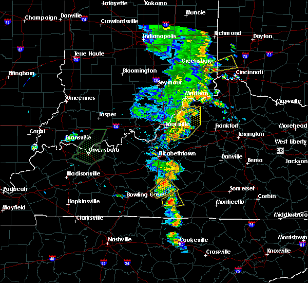 Radar Image for Severe Thunderstorms near Worthington Hills, KY at 6/23/2019 5:15 PM EDT