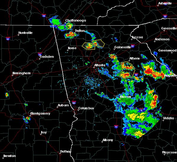 Radar Image for Severe Thunderstorms near Rutledge, GA at 6/23/2019 5:16 PM EDT