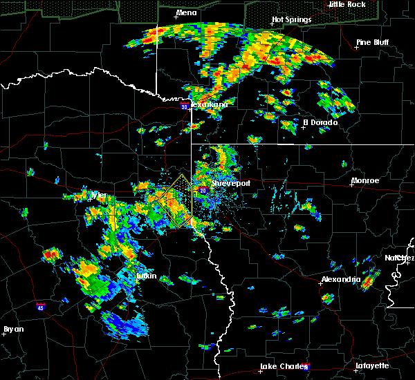 Radar Image for Severe Thunderstorms near Scottsville, TX at 6/23/2019 5:05 PM CDT