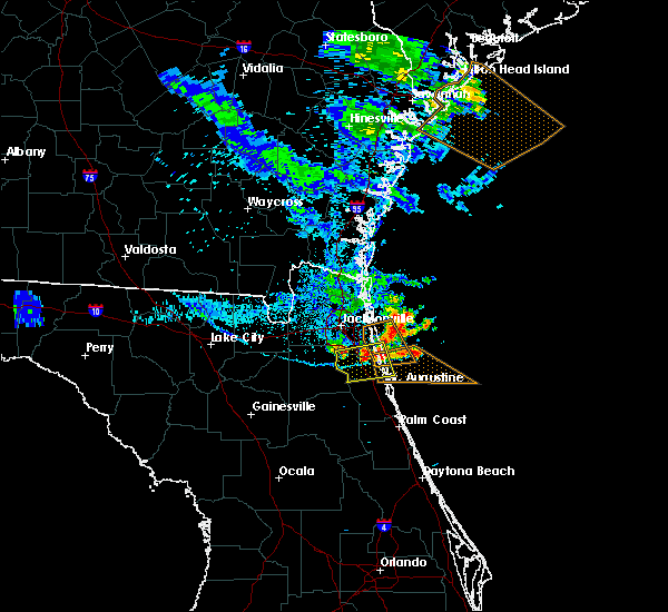 Radar Image for Severe Thunderstorms near World Golf Village, FL at 6/23/2019 8:50 PM EDT