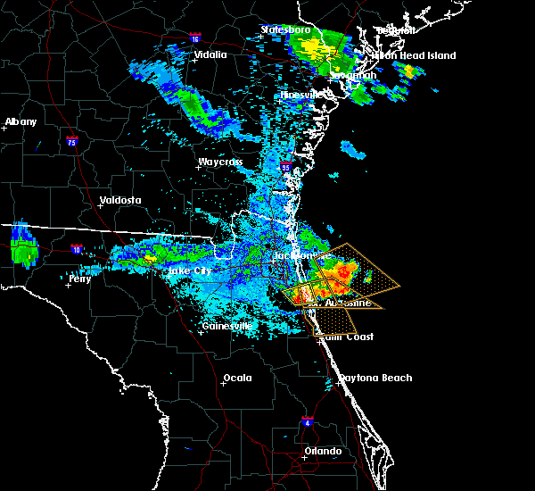 Radar Image for Severe Thunderstorms near World Golf Village, FL at 6/23/2019 9:17 PM EDT