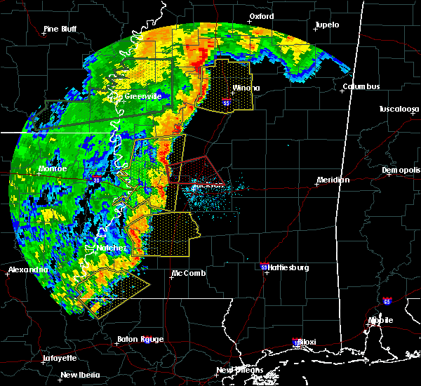 Radar Image for Severe Thunderstorms near Flowood, MS at 6/24/2019 4:01 AM CDT