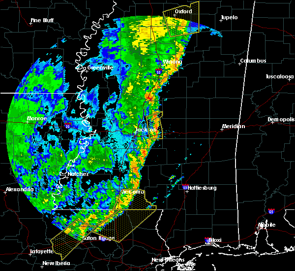 Radar Image for Severe Thunderstorms near Flowood, MS at 6/24/2019 5:10 AM CDT