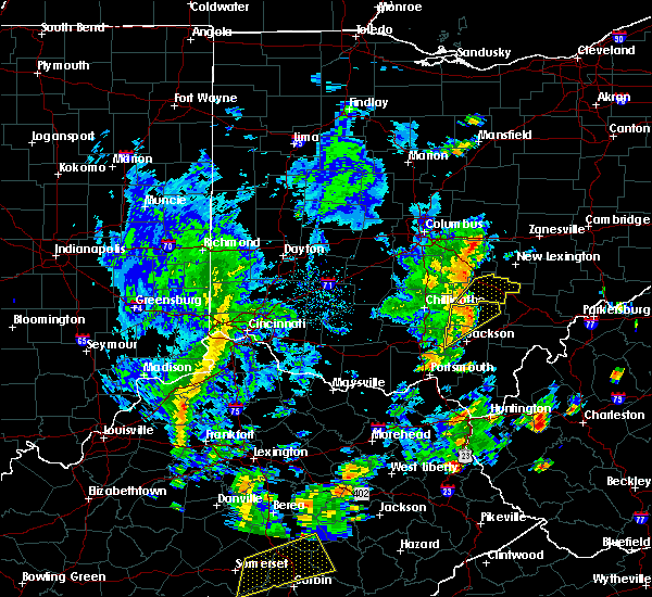 Radar Image for Severe Thunderstorms near Logan, OH at 6/24/2019 3:43 PM EDT