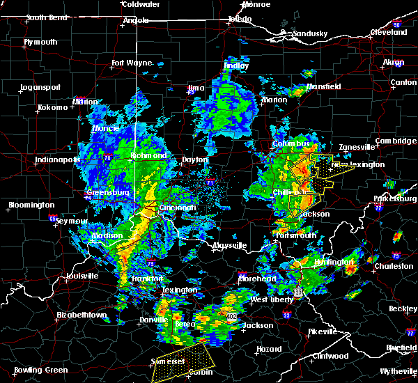 Radar Image for Severe Thunderstorms near Logan, OH at 6/24/2019 3:52 PM EDT