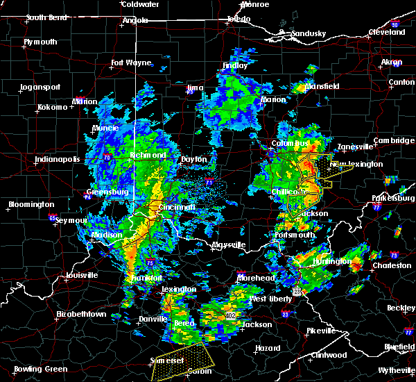 Radar Image for Severe Thunderstorms near Logan, OH at 6/24/2019 4:03 PM EDT