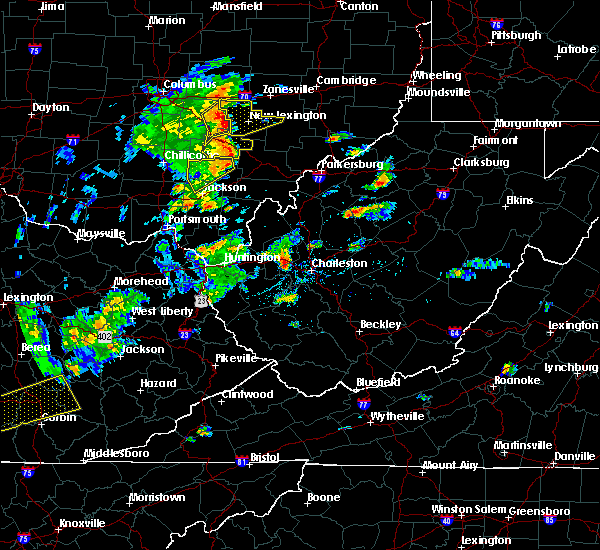 Radar Image for Severe Thunderstorms near Chesterhill, OH at 6/24/2019 4:03 PM EDT