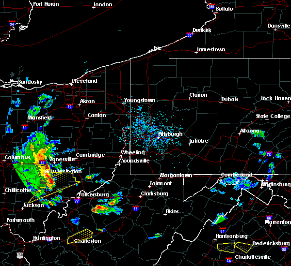 Radar Image for Severe Thunderstorms near Plainfield, OH at 6/24/2019 4:26 PM EDT