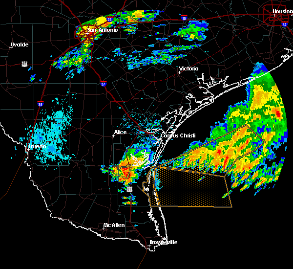 Radar Image for Severe Thunderstorms near Sarita, TX at 6/24/2019 3:42 PM CDT