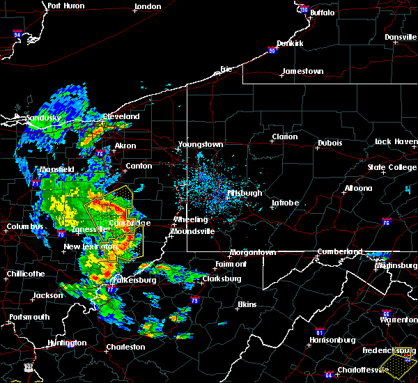 Radar Image for Severe Thunderstorms near Lafferty, OH at 6/24/2019 5:25 PM EDT