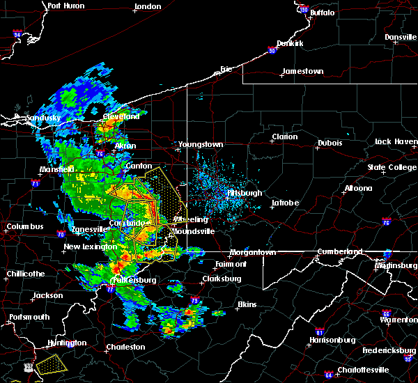 Radar Image for Severe Thunderstorms near Mount Pleasant, OH at 6/24/2019 5:54 PM EDT