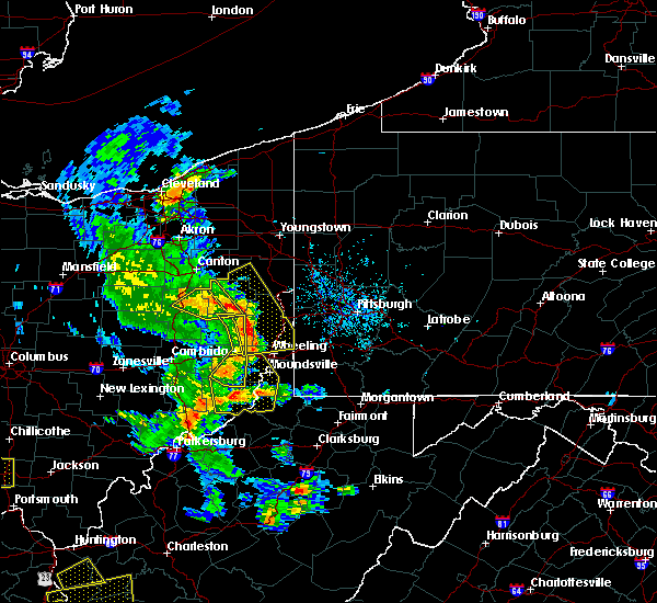 Radar Image for Severe Thunderstorms near Lafferty, OH at 6/24/2019 6:00 PM EDT