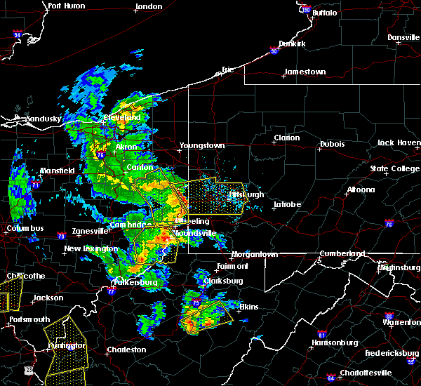 Radar Image for Severe Thunderstorms near Bradford Woods, PA at 6/24/2019 6:28 PM EDT