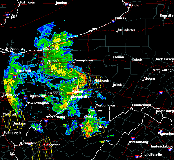 Radar Image for Severe Thunderstorms near Bradford Woods, PA at 6/24/2019 6:53 PM EDT