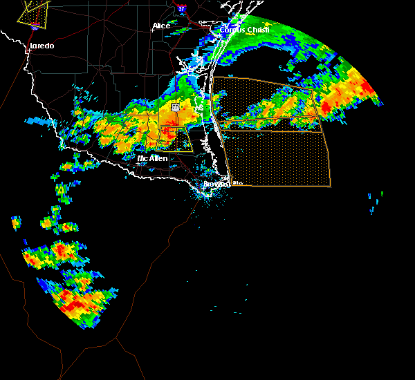 Radar Image for Severe Thunderstorms near Los Angeles, TX at 6/24/2019 6:02 PM CDT