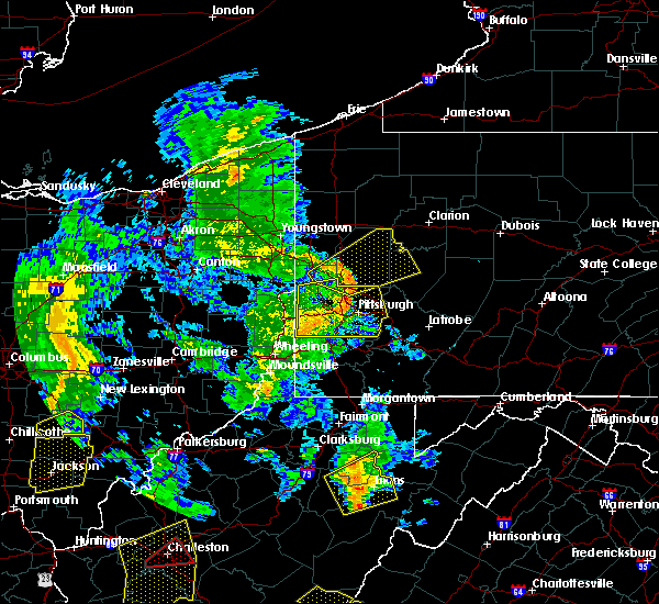 Radar Image for Severe Thunderstorms near Kittanning, PA at 6/24/2019 7:16 PM EDT